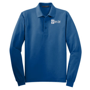 SAINT PAUL - Adult Long Sleeve Silk Touch™ Polo Thumbnail
